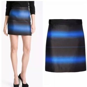 Marc by Marc Jacobs Lida Striped Skirt Blue 8